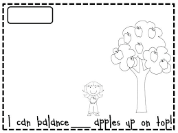 Ten Apples Up On Top Printables Apples Coloring Pages Images Apple