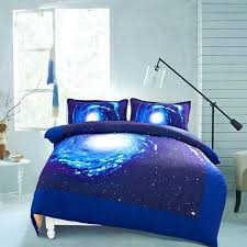 space bedding twin wish galaxy quilt cover duvet sheets outer set with 2 matching pillow covers space bedding twin