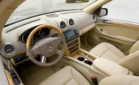 Benz Gl550 Interior