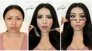 i followed viral asian makeup transformations