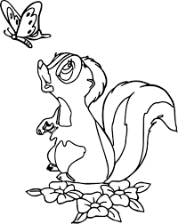 New Skunk Coloring Page Collection Printable Coloring Sheet