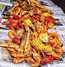 Surf and turf in NYC. Lobster boil like ...