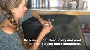 Repair Leather and <b>Vinyl</b> with <b>Flexible</b> Filler - YouTube