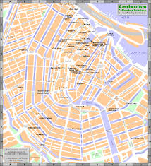 Coffee Shops Amsterdam Map 2014