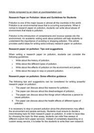 good introduction paragraph thesis statement nd homework best ideas about air pollution environmental writing a good thesis statement for your research