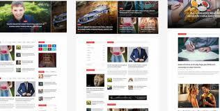 News Magazine Html5 Template Gridgum