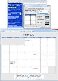 Clander Maker Html Calendar Maker Pro Screenshot And Download At Snapfiles Com