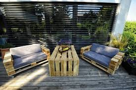making garden furniture from pallets. furniture make your own simple outdoor patio from pallet diy easy making garden pallets