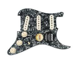 guitars pickguards and wiring harnesses page 43 sigler music 920d loaded strat pickguard klein s 7 eric johnson style bp aw