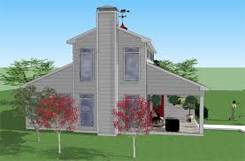 end view the old dominion is handsome from any angle the footprint of the home is approximately 40 x40 the 16 wide great room is two stories tall