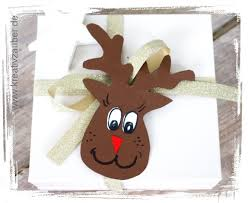 Bastelideen basteln weihnachten basteln weihnachten. Rentier Basteln Als Anhanger Karte Kreativzauber Bastelblog Mit Vielen Vorlagen Anleitungen Und Ideen