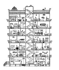 Small Picture Awesome Apartment Building Colouring Page Happy Colouring