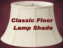 Floor lamp shade silk our most popular classic style