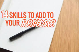 Skills To Add To Your Resumes 14 Marketing Skills To Add To Your Resume This Year Wordstream