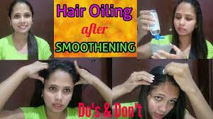 chemically treated hairs best hair oil