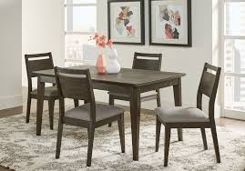 Market Street Black 5 Pc Rectangle Dining Set Rooms To Go