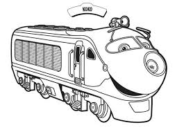 Small Picture Koko from Chuggington Coloring Page Download Print Online