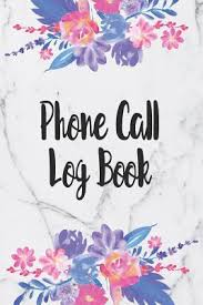 Phone Message Log Book Phone Call Log Book Telephone Message Tracker And Notebook
