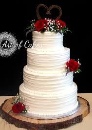 4 Tier Wedding Cake Designs Elegant Red Rose Wedding Cake Romantic Rustic 4 Tier With
