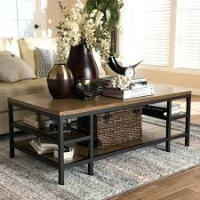 baxton studio coffee table rustic brown and black coffee table by baxton studio baxton studio coffee baxton studio coffee table