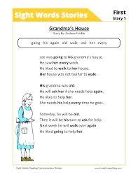 Color By Sight Words Free Kindergarten Reading Worksheets For Pdf