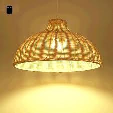 wicker pendant light. Rattan Pendant Light Fixtures Wicker Round Natural Fixture Rustic Primitive Hanging .