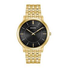 gold watches for men jcpenney bulova mens gold tone bracelet watch 97a127