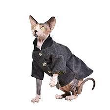 Sphynx Cat Color Chart Amazon Com Khemn Designer Classic Cat Jacket Vintage Style