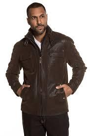 jp 1880 men s big tall classic leather look biker jacket 711448 xm74898