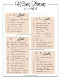 Blank Wedding Planning Checklist Blank Wedding Planning Checklist