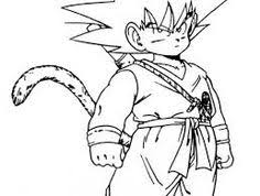 Small Picture Cool manga Dragon ball Z coloring pages for kids printable free