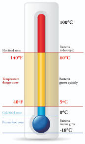Food Temperature Chart Danger Zone Haccp Temperature Levels Sper Scientific