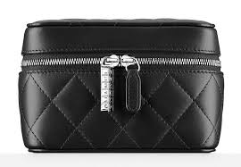 chanel quilted wallet. chanel quilted watch case wallet