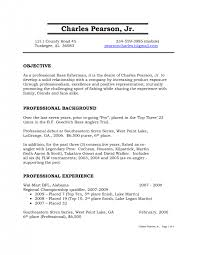 cover letter Cover Letter Template For Standard Resume Objective Career  Retail Xstandard resume objective Medium size ...