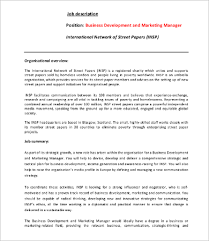 Marketing Officer Job Description Simple 48 Marketing Job Description Templates PDF DOC Free Premium