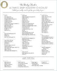 Baby Shower Planning Checklist Umqura Info