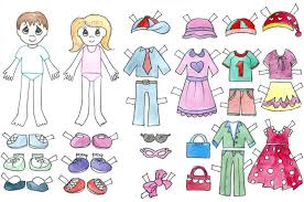 Pinterest is a great place to search, but my favorite are always from this source! Paper Doll Template Best Coloring Pages For Kids