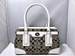 Coach COACH 11589 Hamptons signature medium Thoth tote bag handbag pawnshop  かんてい station Kanazawa bypass shop 17-4418