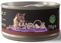 Дополнительный влажный корм <b>Landor</b> для кошек - купить в ...