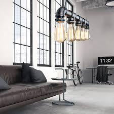 industrial pipe lighting. Industrial Steam Punk Pipe Lighting - Unique\u0027s