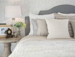 Gray Plus Soft Neutrals Equals Serene And Sophisticated · Bedroom Ideas