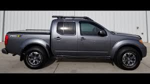 2016 Nissan Frontier Pro 4x Gray T825310 - YouTube