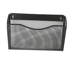 wall mounted office organizer. Mesh Collection Three Pocket Office Wall Mounted Letter File Organizer Holder L