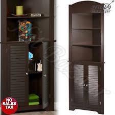 corner furniture. CORNER CABINET TALL Storage Furniture Bathroom Linen Kitchen Pantry Wood Organiz Corner G