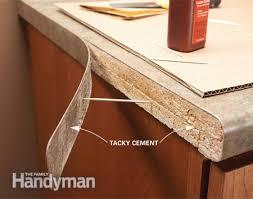 laminate countertop siding adhesive trim iron on tips