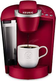With the choice of three cup sizes, the k50 offers a removable drip tray to accommodate travel mugs. Amazon Com Keurig K Classic Coffee Maker Single Serve K Cup Pod Coffee Brewer 6 To 10 Oz Brew Sizes Rhubarb Kitchen Dining
