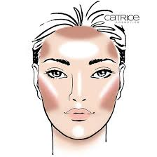 How To Contour Different Face Shapes Face Chart Tutorial