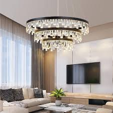 nordic crystal chandelier light dining room led hanging lamp pendant modern led pendant lamps dining room chandelier ceiling hanging lights hanging light