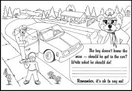 Small Picture Coloring Pages For Child Safety Coloring Pages