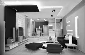 Gallery of Black And White Modern Living Room Stunning For Your Home  Decoration Ideas
